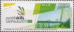 BRAZIL - WORLD SKILLS SÃO PAULO, PROFESSIONAL EDUCATION WORLD COMPETITION 2015 - MNH - Unused Stamps