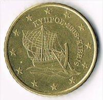 Cyprus 2008 50 (Euro) Cents - Cyprus