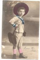 BOY NIÑO BAMBINO ENFANT CHILD SAILOR FASHION N°1280/2 EDIT. P.R.H CIRCULEE CIRCULADA 1908 TBE CPA RARISSIME! GECKO - Humorous Cards