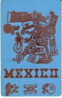Mexico, Tezcatlipoca Como Ball Player, Felt Surface, c1960s Vintage Postcard