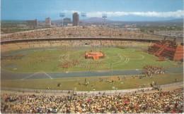Mexico, University of Mexico Stadium, Fiesta del Quinto Sol, c1960s/70s Vintage Postcard