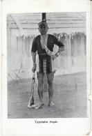 Tajubakn Sapai, Borneo Tribesman Native Ethnic Fashion, C1910s Vintage Card - Picture Cards