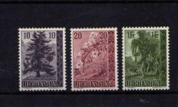 "Liechtenstrein (1957)  - ""Flore. Arbres""  Neufs* - Liechtenstein"