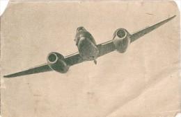 """AVION  AEROMOBILI AIRCRAFT """"GLOSTER METEOR"""" CAZA-INTERCEPTOR SECRETARÍA DE AERONÁUTICA PUBLICITÉ NON CIRCULEE GECKO - 1946-....: Era Moderna"""