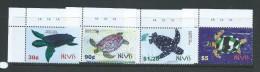 Nevis 2004 Turtle Set 4 MNH - St.Kitts And Nevis ( 1983-...)