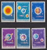 Rumänien; 1981; Michel 3795/3800 **; Planetenkonstelation; Bild2 - 1948-.... Republiken