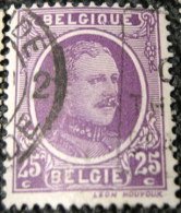 Belgium 1922 King Albert I 25c - Used - 1922-1927 Houyoux