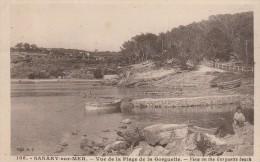 SANARY SUR MER -83- VUE DE LA PLAGE DE LA GORGUETTE - Sanary-sur-Mer