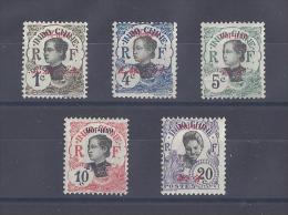 HOI-HAO. Bureau Indochinois.  Timbres D´Indochine Surchargés - Neufs
