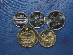 SAMOA 5 HIGH GRADE COINS 2011 FAUNA SET