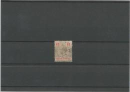 1913-21 HONDURAS BRITANICA ,GRAN BRETAÑA, EFIGIE DE JORGE V , Nº 80 CATALOGO YVERT - British Honduras (...-1970)
