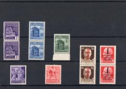 ITALIA: Serie Di 11  Francobolli NUOVI - Regno E  Repubblica Sociale Italiana (non Completa) - 4. 1944-45 Repubblica Sociale