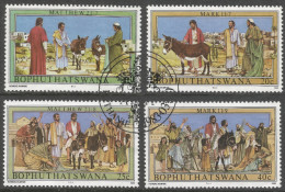 Bophuthatswana. 1983 Easter. Palm Sunday. Used Complete Set. SG 104-107 - Bophuthatswana