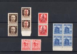 ITALIA: Serie Di 12  Francobolli NUOVI - Regno E  Repubblica Sociale Italiana (non Completa) - 4. 1944-45 Repubblica Sociale