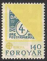 Faroe Islands 1979 Europa Post History  - Stamp On Stamp , Mi 43 MNH(**) - Féroé (Iles)