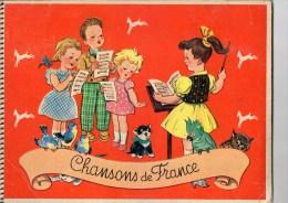 ALBUM IMAGES POULAIN CHANSONS DE FRANCE COMPLET 4ème Album - Poulain