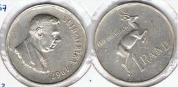 SUDAFRICA SUID AFRIKA RAND 1967 PLATA SILVER - Sudáfrica