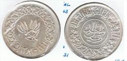 YEMEN RIAL 1963 PLATA SILVER G1 - Yemen