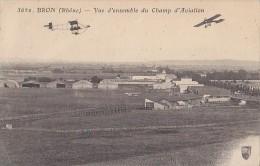 Aviation - Militaria - Champ Aviation Bron - Correspondant Guerre 14-18 Camp Retranché Paris - Escadrille N° 15 - Vliegvelden