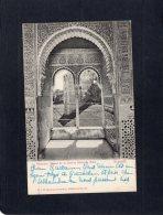 54798    Spagna,    Alhambra:  Ajlmez De La Cautiva Isabel De Solis, Granada,  VG - Granada