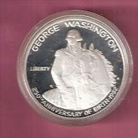 AMERIKA  1/2 DOLLAR 1982S ZILVER PROOF GEORGE WASHINGTON ON HORSE - Non Classés
