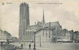 Malines - La Cathédrale St. Rombaut Et L'Hôtel De Ville - 1911 - Malines