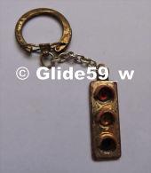 Porte-clés Métal - Feu Tricolore - Porte-clefs