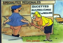 Produits Regionaux - Sucettes ! Sucres D'orge ! Barres De Réglisse ! - - Humour