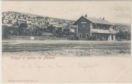 25426g MALAKA - Village et Station - Tarazi & Fils Editeur