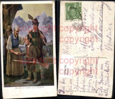 430165,Künstler Ak R. A. Höger Mit Gott Für Kaiser U. Vaterland Tiroler Freiheitskamp - Histoire
