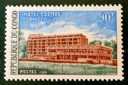 HOTEL COSMOS A BRAZZAVILLE 1970 - NEUF ** - YT 250 - MI 205 - Congo - Brazzaville