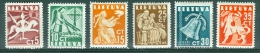 Lithuania 1940 Allegories MH* - Lot. 3661 - Lithuania