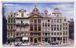Cpa BRUXELLES Grand Place - Marktpleinen, Pleinen