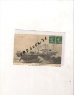 "Cpa STEAMER "" ALMA "" ANGLAIS LONDON ET SOUTH RAILAWAY 1894 1912  PAQUEBOT BATEAU NAVIRE IDENTIFIE - Dampfer"