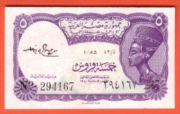EGYPTE - 5 Piastres Loi 1940 - Pick 176c - Egypte
