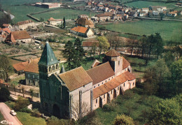 71  PERRECY LES FORGES  VUE AERIENNE  EGLISE  ROMANE XI ème - Other Municipalities
