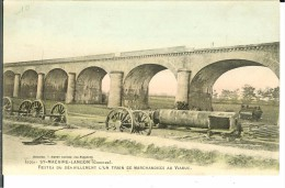 CPA  SAINT-MACAIRE LANGON Restes Du Déraillement D'un Train 11807 - France