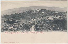 25501g BROUMANAH - Panorama - Route de Be�t M�ri - Tarazi & Fils Editeur