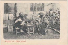 25522g LIBAN - Paysans jouant