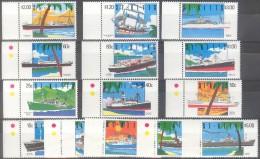 Saint Kitts St-Christophe 1990 Yvert N° 713-26 *** MNH Cote 32 Euro Bateaux Boten Ships - St.Kitts-et-Nevis ( 1983-...)
