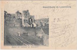 25554g  LUXEMBOURG - Ruine Du Château De Beaufort - 1901 - Luxemburg - Stad