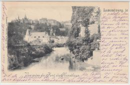 25562g LUXEMBOURG - Panorama - Vue Prise Du Pont Du Hundhaus - 1900 - Luxembourg - Ville