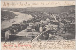 25564g  WASSERBILLIG - Panorama - 1904 - Luxembourg - Ville