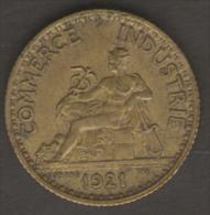 FRANCIA BON POUR 1 FRANC 1921 CHAMBRES DE COMMERCE  DE FRANCE - H. 1 Franco