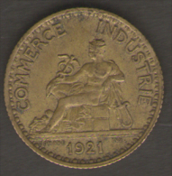 FRANCIA BON POUR 1 FRANC 1921 CHAMBRES DE COMMERCE  DE FRANCE - Francia