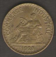 FRANCIA BON POUR 1 FRANC 1923 CHAMBRES DE COMMERCE  DE FRANCE - Francia