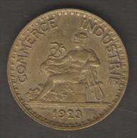 FRANCIA BON POUR 2 FRANCS 1923 CHAMBRES DE COMMERCE  DE FRANCE - I. 2 Franchi