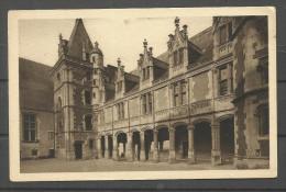 Château De BLOIS Façade Intèrieure Louis XII - Blois