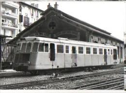 CP Train - 06 Alpes Maritimes - Autorail Renault ZZ 12 à Nice - Cp N° 610.2 - Schienenverkehr - Bahnhof