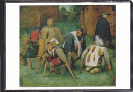 Oeuvre De Pieter Bruegel L'ancien, Les Mendiants, Musée Du Louvre - Schilderijen